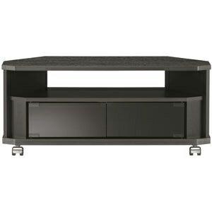 朝日木材 32V型対応テレビ台 コーナー設置対応「CN style」 AS−CN800−B(送料無料)
