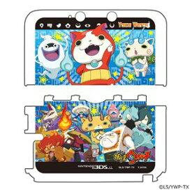 プレックス 妖怪ウォッチ NINTENDO 3DS LL専用 カスタムハードカバー2 妖怪大集合Ver. YW−10A