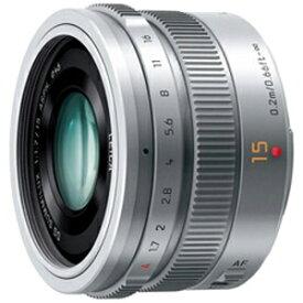 パナソニック LEICA DG SUMMILUX 15mm/F1.7 ASPH. H‐X015‐S(シルバー)
