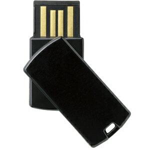 エレコム USBメモリー 回転式コネクタカバー (16GB) MF‐RSU216GBK (ブラック)