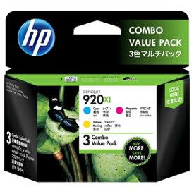 HP HP 920XL インクカートリッジ(3色マルチパック) E5Y50AA (3色(シアン・マゼンタ・イエロー))