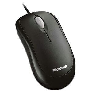 マイクロソフト 有線光学式マウス「USB」 Microsoft Basic Optical Mouse 4YH‐00003 (セサミブラック)