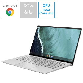 ASUS エイスース Chromebook Flip 14型ノートPC[14.0型/eMMC:32GB/メモリ:4GB] C434TA-AI0095 シルバー
