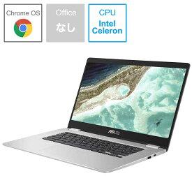 ASUS エイスース Chromebook 15.6型ワイド ノートPC [15.6型 /intel Celeron /eMMC:64GB /メモリ:8GB] C523NA-EJ0130 シルバー