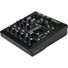 MACKIE 6chエフェクト/USB内蔵プロフェッショナルミキサー ProFX6v3