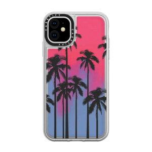 CASETIFY iPhone 11 6.1インチ Black Summer Palm Tree CTF-2829994-16000105