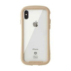 HAMEE [iPhone XS/X専用]iFace Reflection強化ガラスクリアケース 41-907191 ベージュ