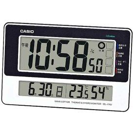 カシオ CASIO 電波掛け時計 ウェーブセプター(wave ceptor)「生活環境お知らせクロック」 IDL-170-J7JF