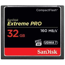 サンディスク 32GBコンパクトフラッシュ Extreme PRO SDCFXPS‐032G‐J61