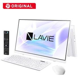 NEC デスクトップパソコン LAVIE A23シリーズ(TVチューナ)[23.8型/SSD:512GB/メモリ:8GB] PC-A2336BZW-2 ファインホワイト