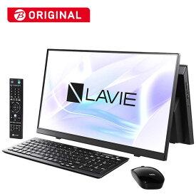 NEC デスクトップパソコン LAVIE A23シリーズ(TVチューナ)[23.8型/SSD:512GB/メモリ:8GB] PC-A2336BZB-2 ファインブラック