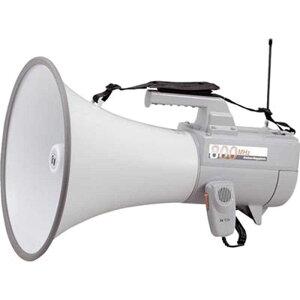 TOA ワイヤレスメガホン (30W・ホイッスル音付) ER-2830W (ホワイト)