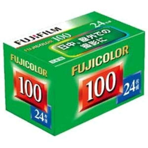 富士フイルム FUJIFILM FUJICOLOR 100 S 24枚撮り 135FUJICOLORS10024EX
