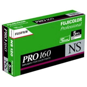 富士フイルム FUJIFILM カラープロ160NS120−12枚撮り(5本パック) 120PN160NSEP12EX5