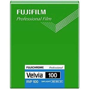 富士フイルム FUJIFILM 「シートフィルム」ベルビア100 4×5インチ 20枚入(新パッケージ) CUTVELVIA100NP4X520
