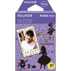 富士フイルム FUJIFILM チェキ インスタントカラーフィルム「ふしぎの国のアリス」 1パック(10枚入) INSTAXMINIALICEWW1