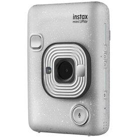 富士フイルム FUJIFILM ハイブリッドインスタントカメラ 『チェキ』 instax mini LiPlay ストーンホワイト