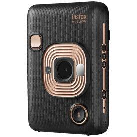 富士フイルム FUJIFILM ハイブリッドインスタントカメラ 『チェキ』 instax mini LiPlay エレガントブラック