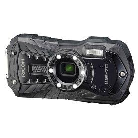 リコー RICOH コンパクトデジタルカメラ [防水+防塵+耐衝撃] WG-70 ブラック