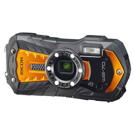 リコー RICOH コンパクトデジタルカメラ [防水+防塵+耐衝撃] WG-70 オレンジ
