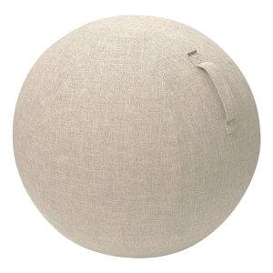 エレコム ELECOM バランスボール[ファブリックカバー] HCF−BBCシリーズ(対応ボールサイズ 直径約55cm/ベージュ) HCF−BBC55BE