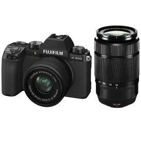 富士フイルム FUJIFILM ミラーレス一眼カメラ ダブルズームレンズキット [ズームレンズ+ズームレンズ] X-S10LK-1545/5023