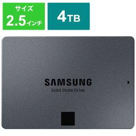 SAMSUNG 内蔵SSD 870QVO MZ-77Q4T0B/IT