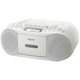 ソニー SONY CDラジカセ(ホワイト) CFD-S70 WC