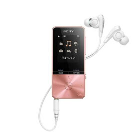 ソニー SONY デジタルオーディオプレーヤー WALKMAN S310シリーズ (ピンク/4GB) NW-S313 PIC 【ワイドFM対応】