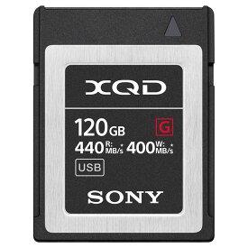 ソニー SONY 120GB XQDメモリーカード(Gシリーズ) QD-G120F