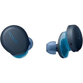 ソニー SONY フルワイヤレスイヤホン [リモコン・マイク対応 /ワイヤレス(左右分離) /Bluetooth] WF-XB700 LZ ブルー
