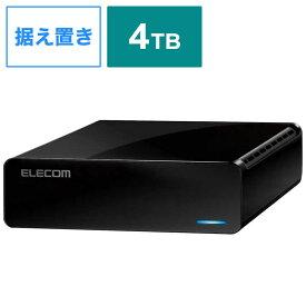 エレコム ELECOM Desktop 4.0TB Black ELD-FTV040UBK