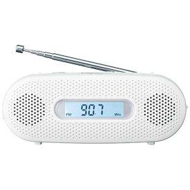 パナソニック Panasonic 「ワイドFM対応」FM/AM 手回し充電ラジオ RF-TJ20-W(ホワイト)