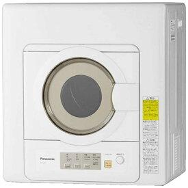 パナソニック Panasonic 衣類乾燥機[乾燥容量6.0kg] NH-D603-W ホワイト(標準設置無料)