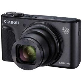 キヤノン CANON コンパクトデジタルカメラ PowerShot(パワーショット) SX740 HS-BK(ブラック)