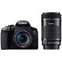 キヤノン CANON ダブルズームキット デジタル一眼レフカメラEOS Kiss X10i [ズームレンズ+ズームレンズ] EOSKISSX1…
