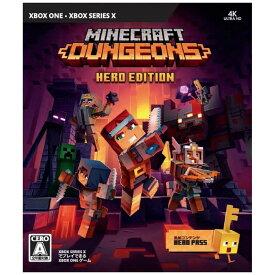 マイクロソフト Microsoft XBOXoneゲームソフト Minecraft Dungeons Hero Edition QYN00010