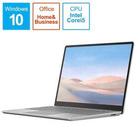 マイクロソフト Microsoft Surface Laptop Go i5 [12.4型/intel Core i5/SSD:256GB/メモリ:8GB/2020年10月] THJ-00020 プラチナ