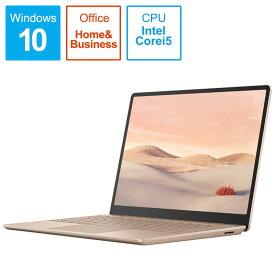 マイクロソフト Microsoft Surface Laptop Go i5 [12.4型/intel Core i5/SSD:256GB/メモリ:8GB/2020年10月] THJ-00045 サンドストーン
