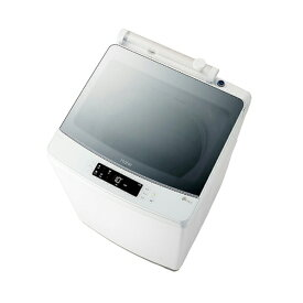ハイアール インバーター全自動洗濯機[洗濯8.0kg/洗剤自動投入/送風乾燥付き] JW-KD85A-W ホワイト(標準設置無料)
