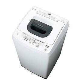日立 HITACHI 全自動洗濯機 白い約束[洗濯5.0kg/高濃度洗浄] NW-50F-W ピュアホワイト(標準設置無料)
