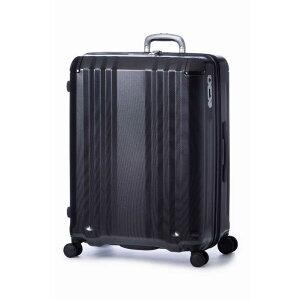 A.L.I スーツケース ハードキャリー 102L(120L) デカかるEdge ウェーブブラック ALI-008-102 [TSAロック搭載]