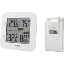 シチズンシステムズ コードレス温湿度計(簡易熱中症指標表示付き) THD501