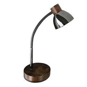 オリンピア照明 LEDテーブルランプ(木製ダークブラウン) GS1704DB