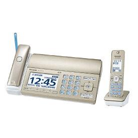 パナソニック Panasonic 「子機1台付」デジタルコードレス普通紙FAX 「おたっくす」 KX-PZ720DL-N (シャンパンゴールド)