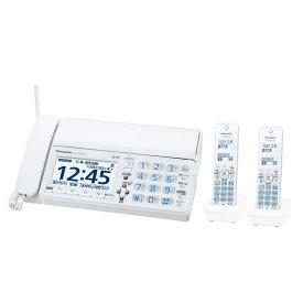 パナソニック Panasonic 「子機2台付」デジタルコードレス普通紙FAX KX-PZ620DW-W
