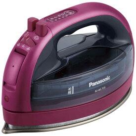 パナソニック Panasonic コードレススチームアイロン CaRuru(カルル) NI-WL705-P ピンク