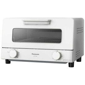 パナソニック Panasonic オーブントースター[1200W/食パン4枚] ホワイト NT-T501-W