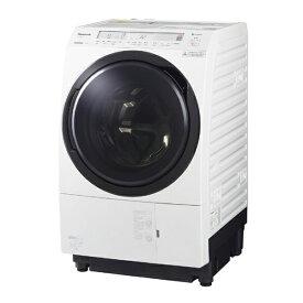パナソニック Panasonic ドラム式洗濯乾燥機 VXシリーズ[洗濯11.0kg/乾燥6.0kg/ヒートポンプ乾燥/左開き] NA-VX800BL-W クリスタルホワイト(標準設置無料)
