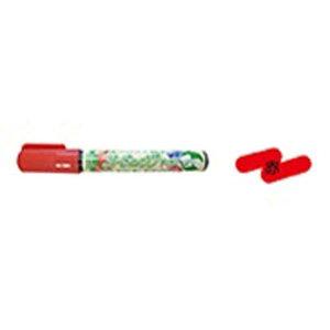 エポックケミカル [油性マーカー] ガーデニングマーカー 赤 377-0250
